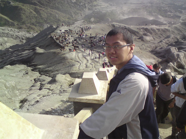 Tangga Pendakian Bromo