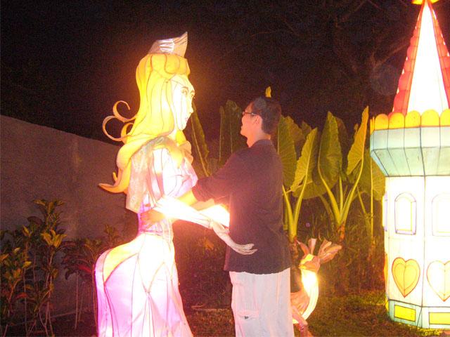 Lampion Princess, di BNS