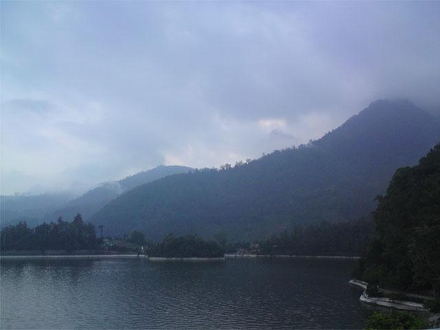 View dari vila