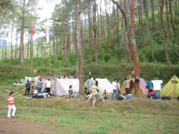 Suasana Camping Area