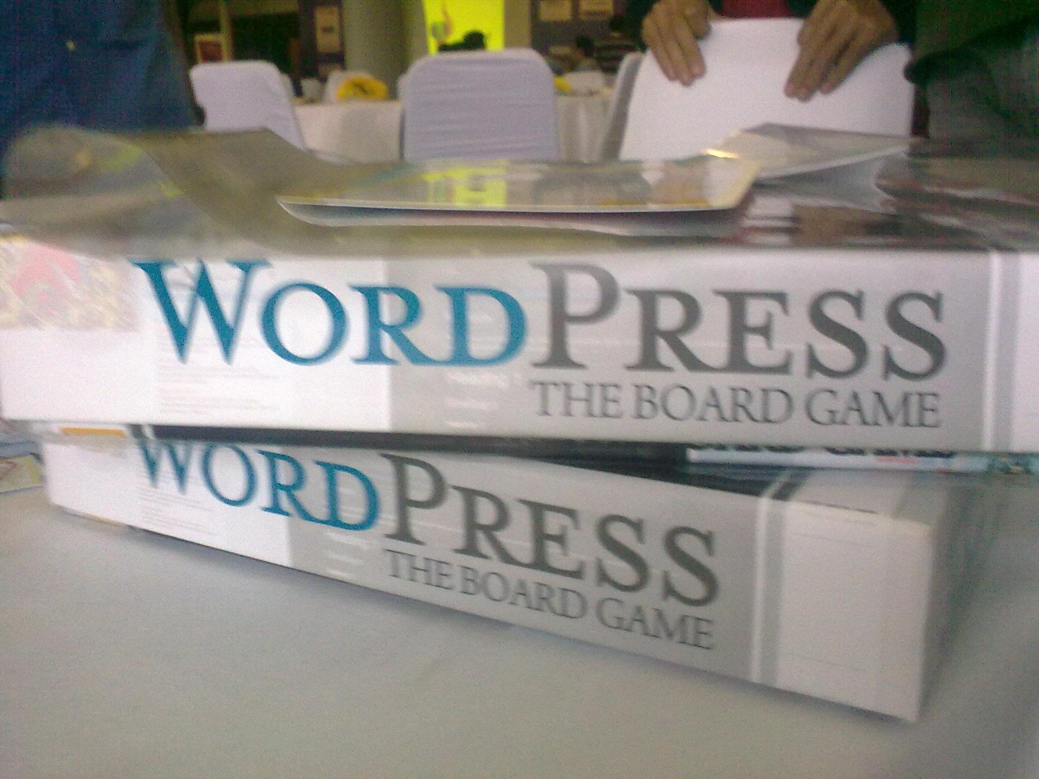 WordPress Board Game
